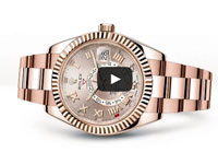 Rolex Sky-­Dweller Everose Gold
