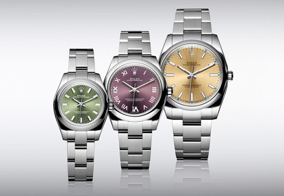 Rolex Oyster Perpetual 34, 31 & 26