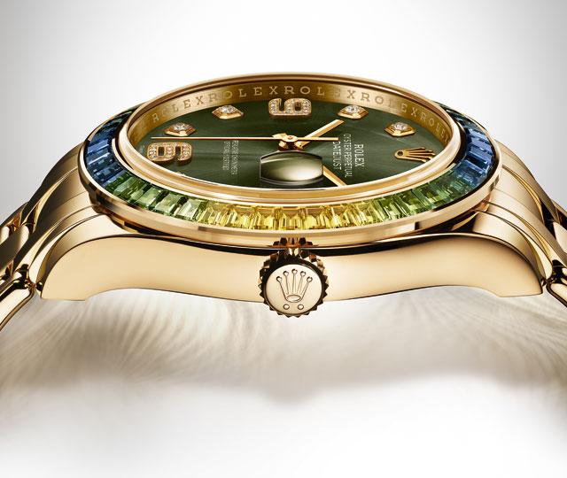 Rolex Datejust Pearlmaster Green