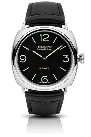 Radiomir Black Seal 8 Days Acciaio - 45mm