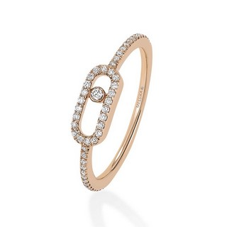 Move Uno pavé dijamantski prsten