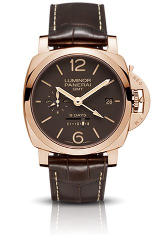 Luminor 1950 8 Days GMT Oro Rosso - 44mm