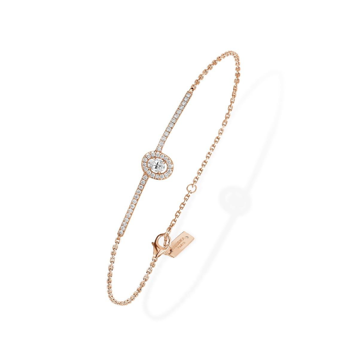 c56a6a23919ba3 Glam'Azone pavé diamond bracelet - P06177 - GLAM'AZONE - Messika ...