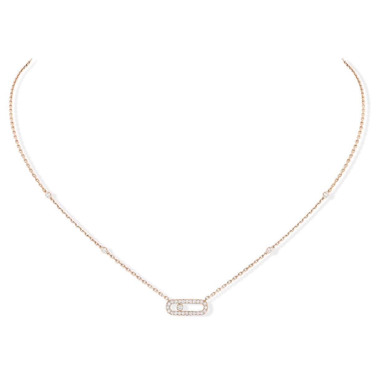 Move Uno diamond necklace