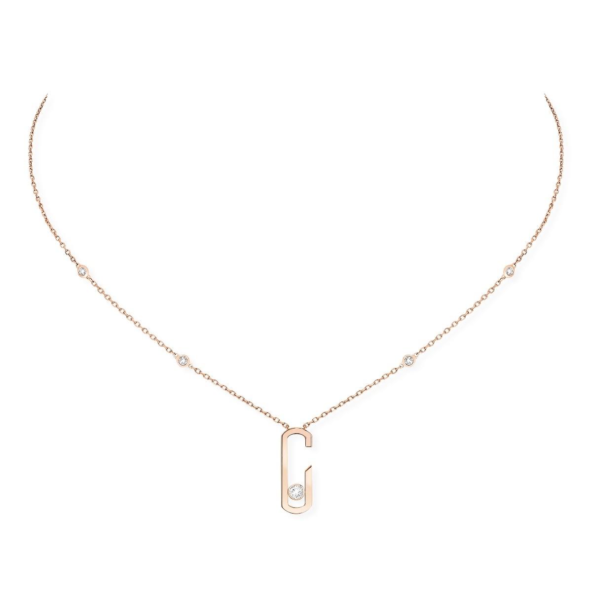 Move Addiction Diamond Necklace P06815 Move Addiction Messika