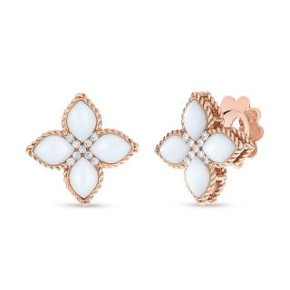 Princess Flower Mother of Pearl earrings