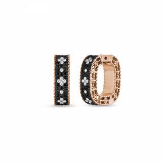 Venetian Princess Black Diamonds naušnice