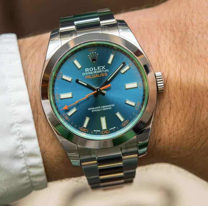 Rolex Milgauss \u2013 Z,Blue Dial , News , Timepieces , Rolex