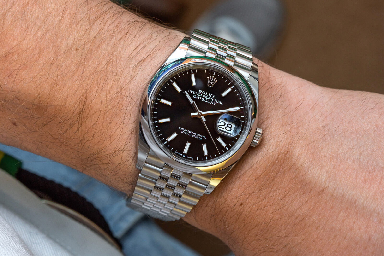 Rolex Datejust 36 , Ref. 126200 , News , Timepieces , Rolex
