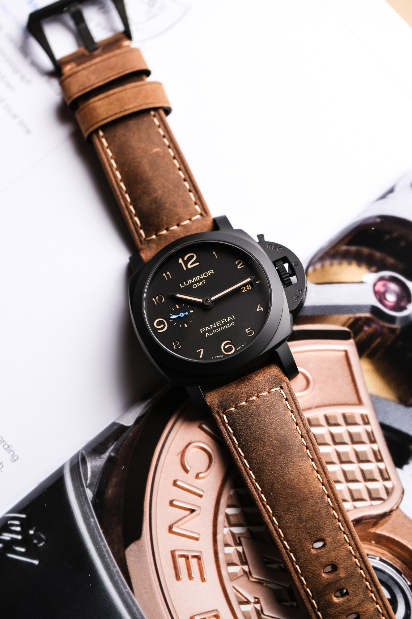 Panerai Luminor 1950 3 days GMT 44 Automatic Ceramica – PAM01441