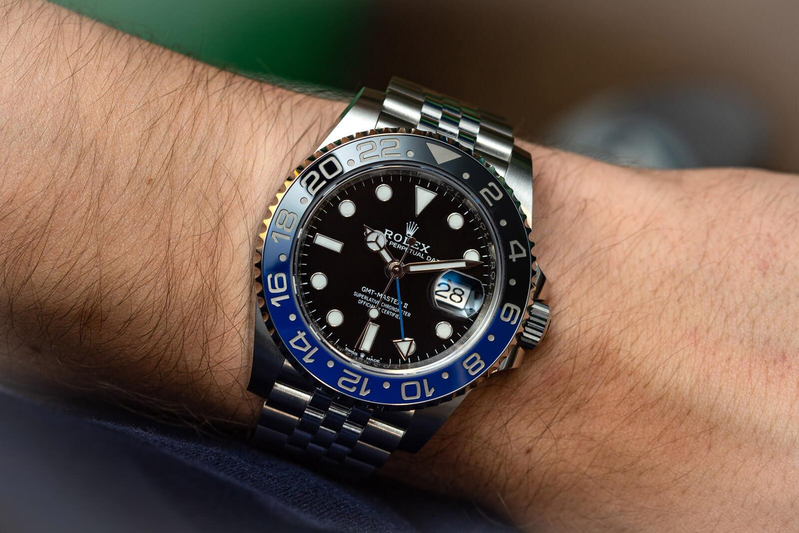 Rolex GMT-Master II – Ref. 126710BLNR