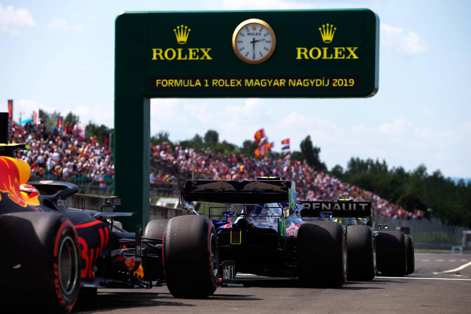 Sir Jackie Stewart & Formula 1 Rolex Magyar Nagydíj 2019
