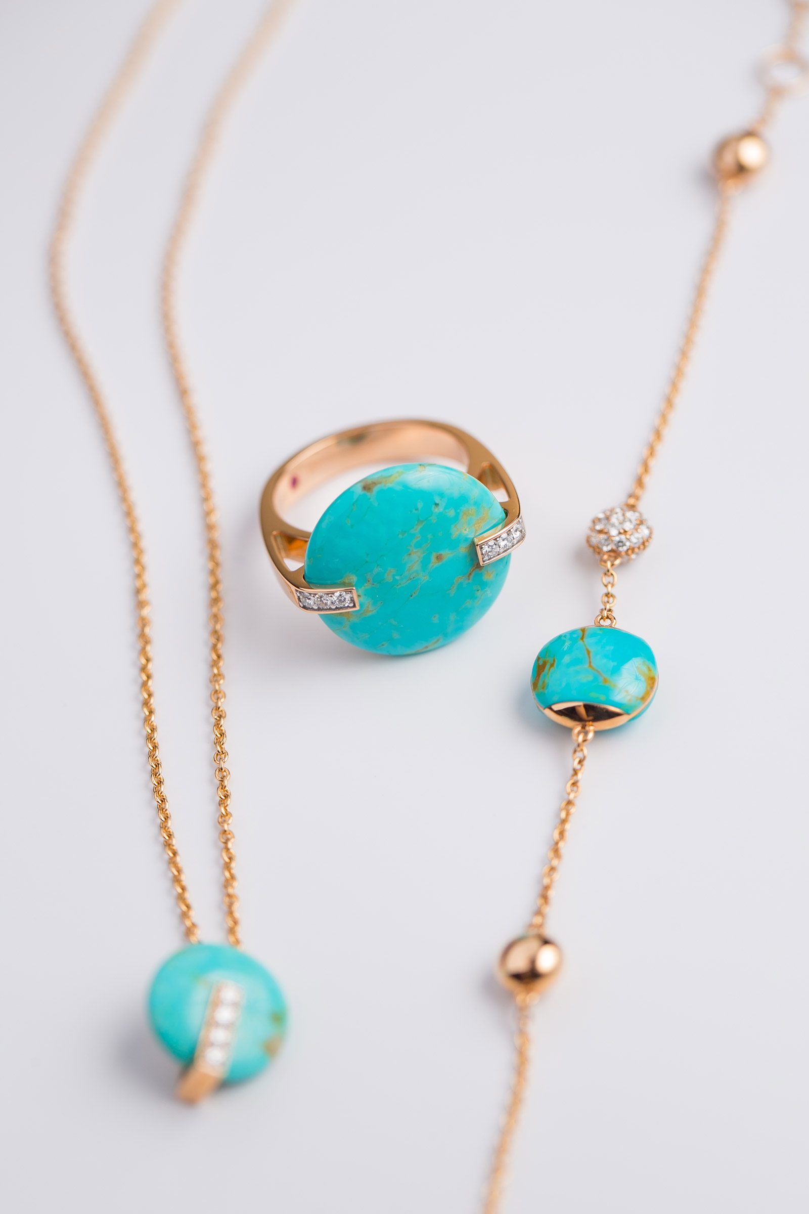 Roberto Coin Colored Treasure Turquoise