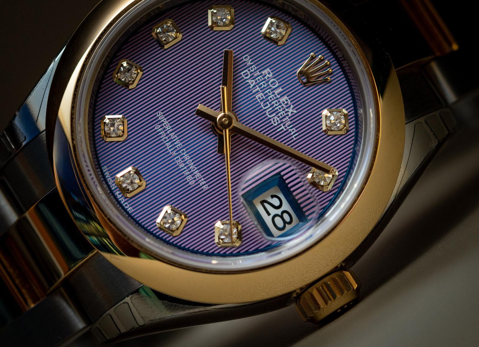 Rolex Lady-Datejust 28 - Lavender számlap