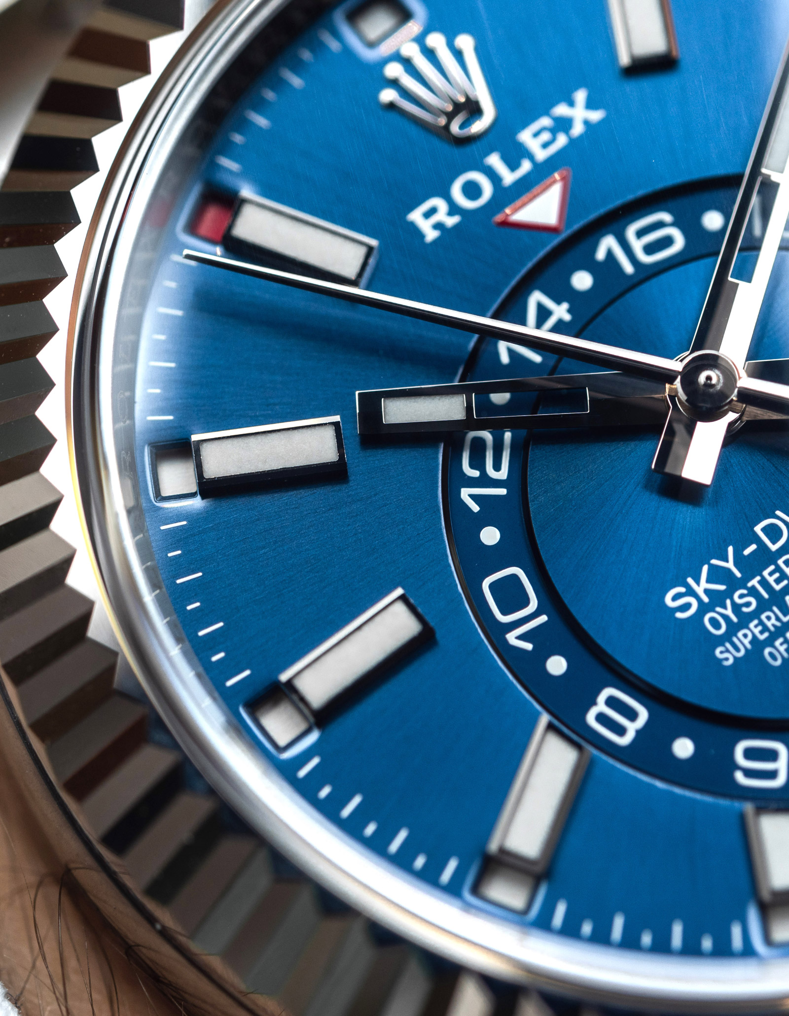 Rolex Sky-Dweller with blue dial – Ref. 326934