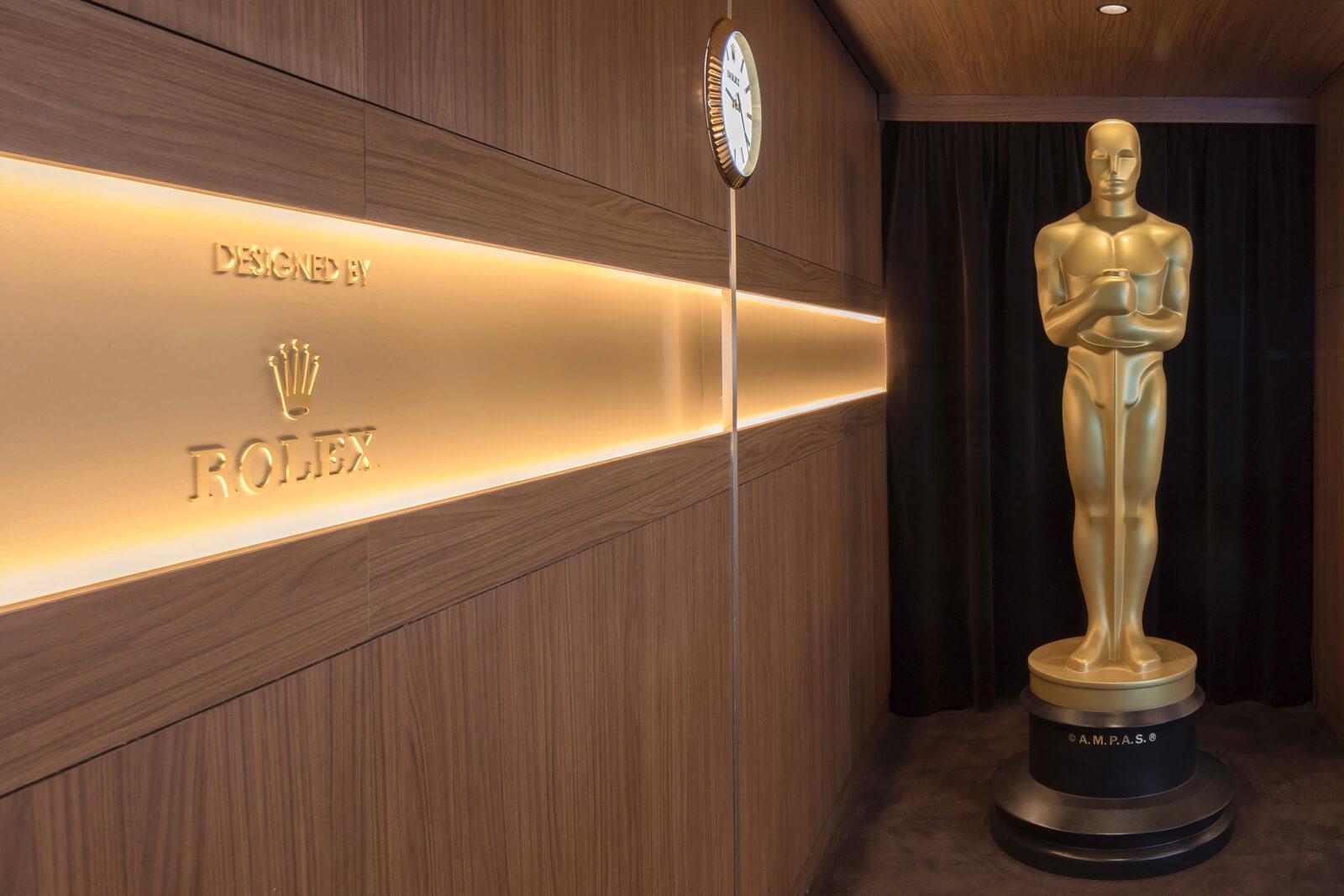 Rolex & Cinema - Proud partner of the Oscar