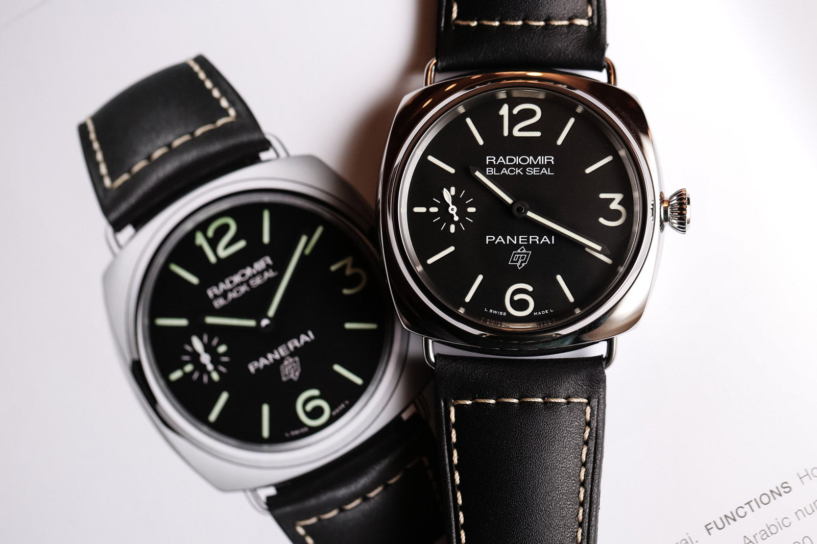 Panerai Radiomir Black Seal Logo 45mm - PAM00754
