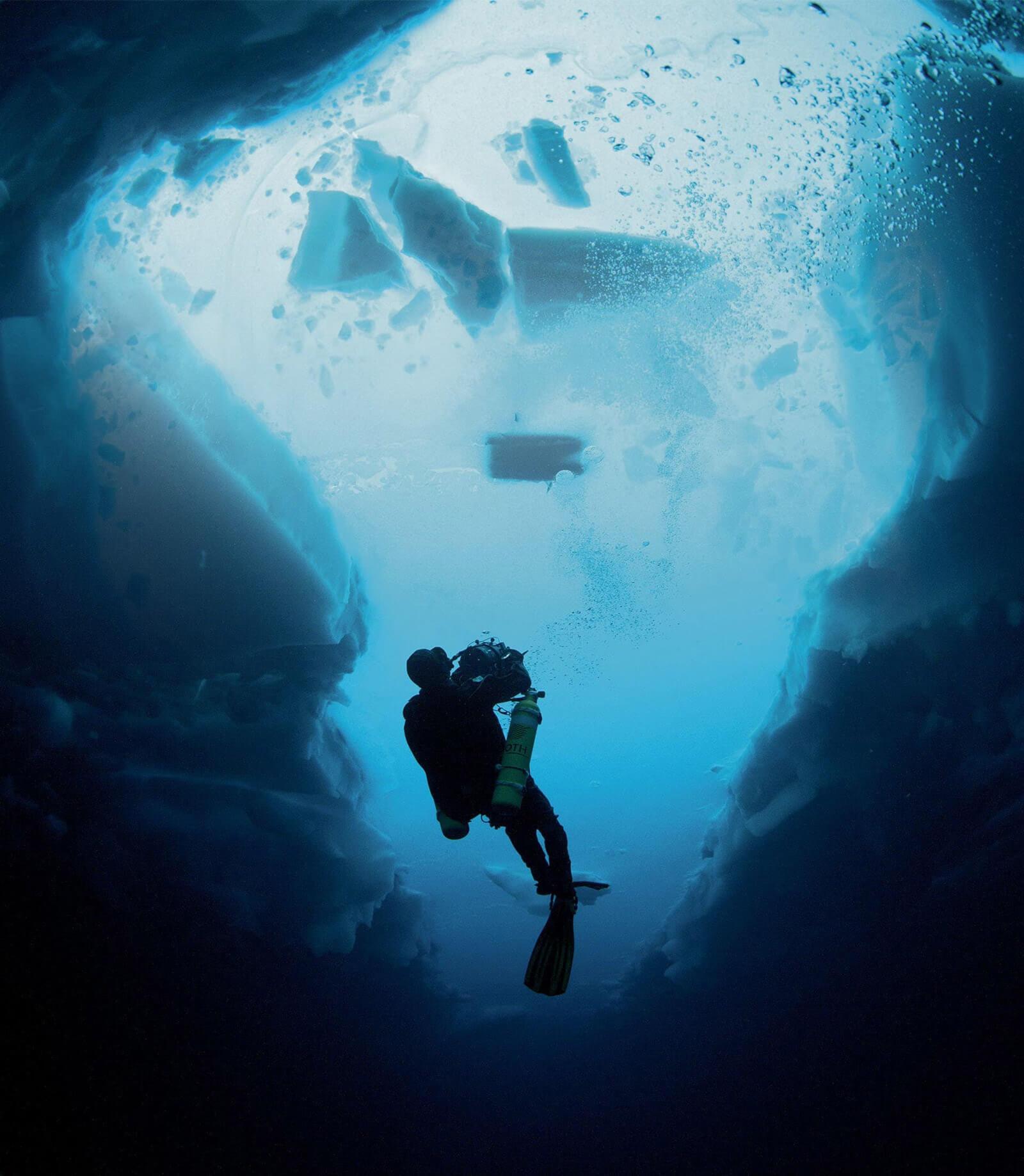 Ekspedicija Deepsea Under the Pole by Rolex