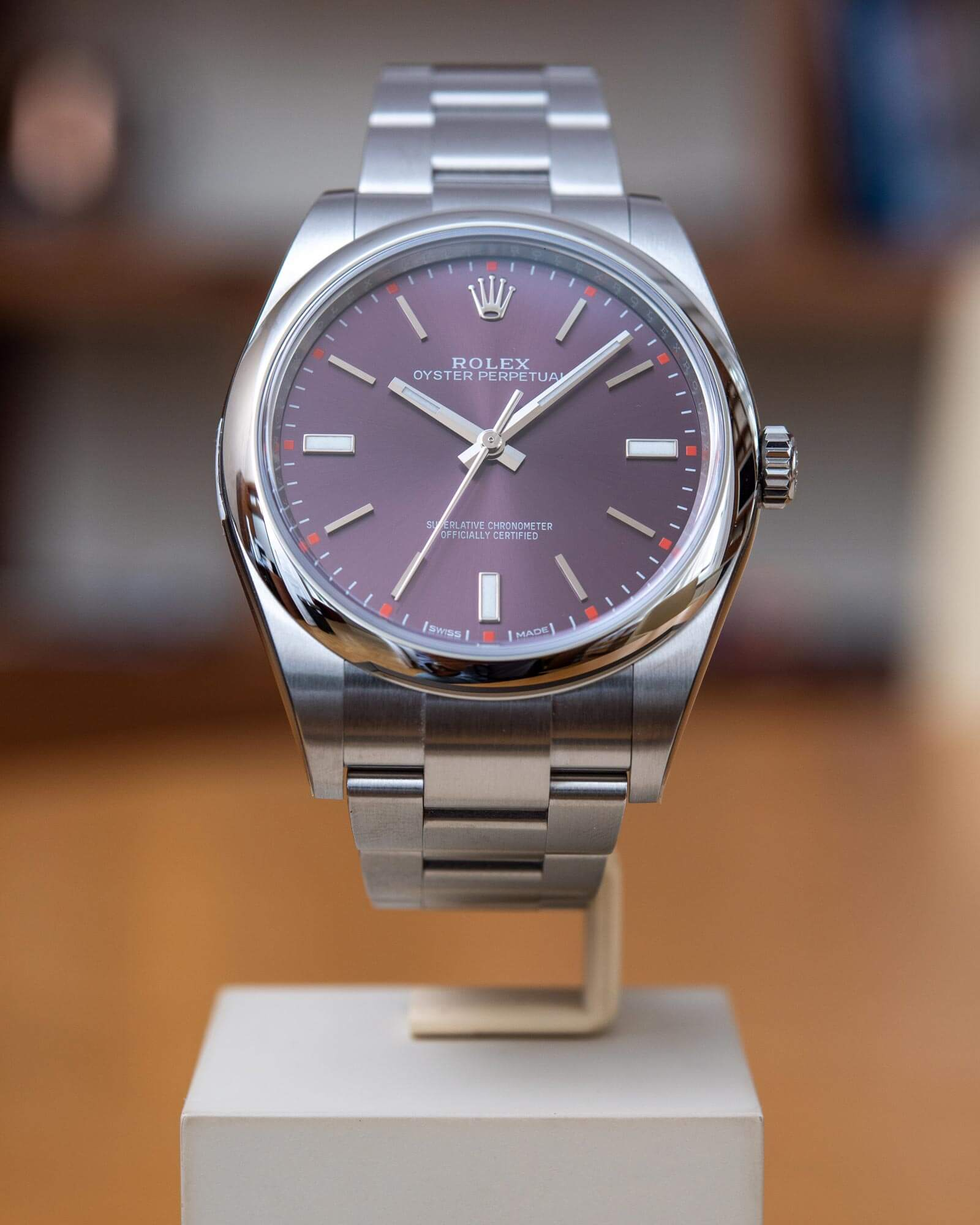 Rolex Oyster Perpetual 39 – Ref. 114300
