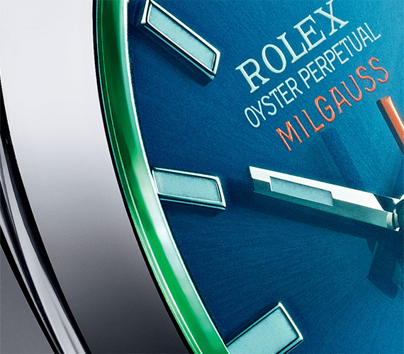 GREEN SAPHIRE CRYSTAL - Rolex Boutique Belgrade - Rolex watches