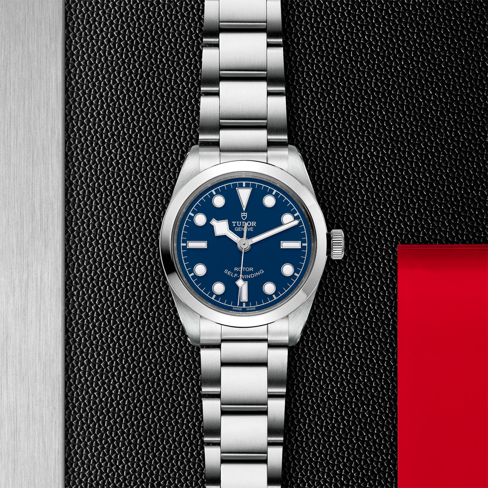 Blue Dial Steel bracelet